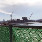 有明親水海浜公園 工事写真