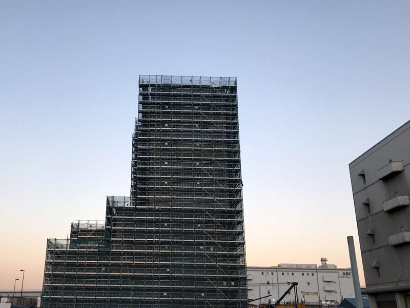 シンガポール不動産大手ファー・イーストのホテル「(仮称)有明一丁目ホテル計画」建設予定地 2018.01現在