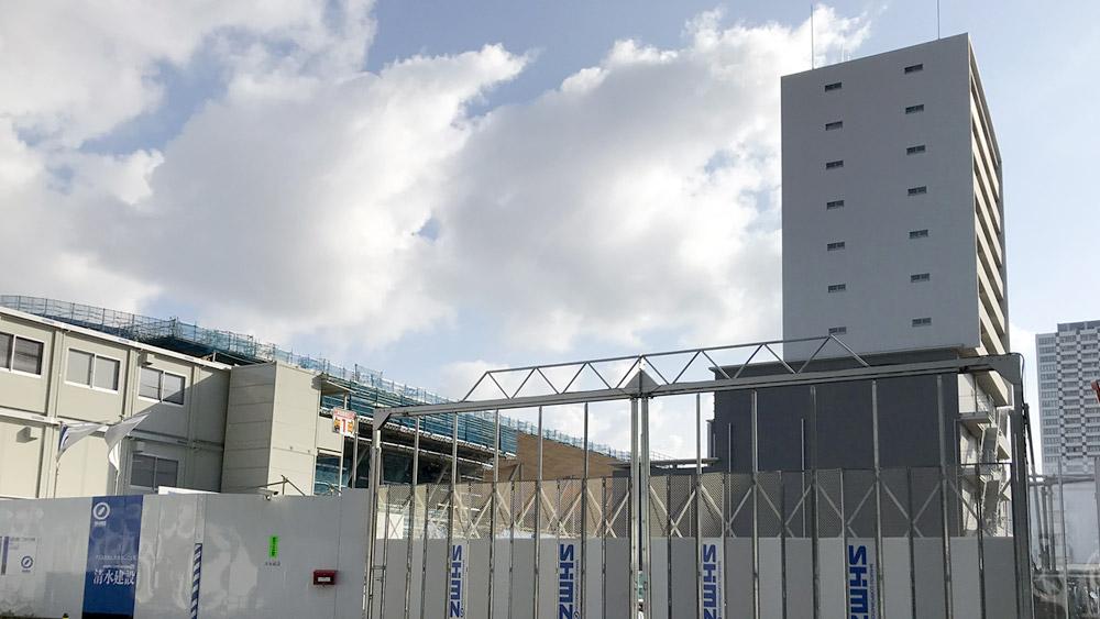 シンガポール不動産大手ファー・イーストのホテル「(仮称)有明一丁目ホテル計画」建設予定地 2019.05現在