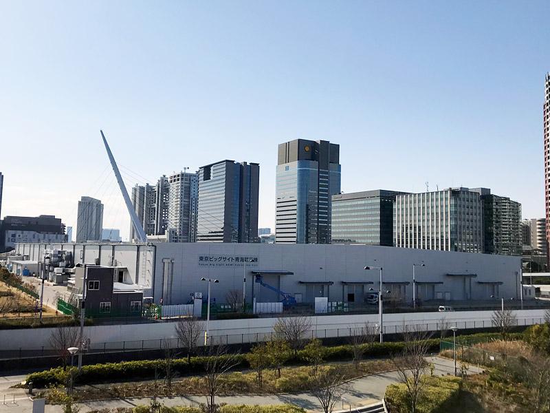 東京ビッグサイト青海展示棟|完成外観写真