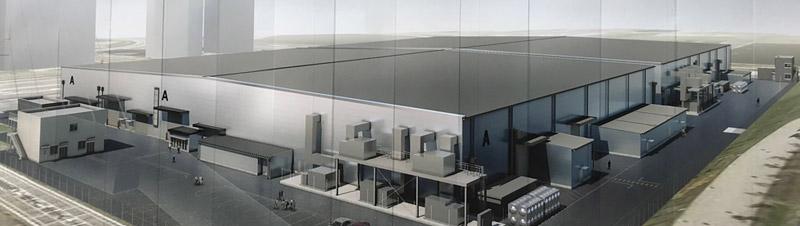 東京ビッグサイト青海展示棟|完成イメージ図