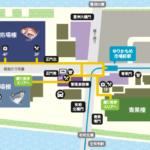 豊洲市場の場内全体マップ 画像出典:ザ・豊洲市場