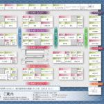 物販店舗エリア・魚がし横丁<店舗一覧・配置図>画像出典:ザ・豊洲市場