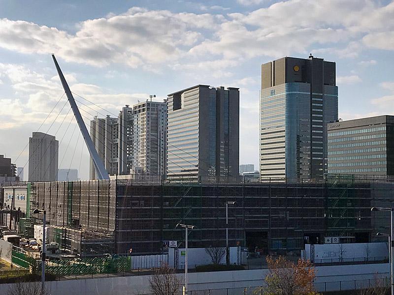 聖火台は有明側「夢の大橋」に決定!|東京ビックサイト「青海展示棟」