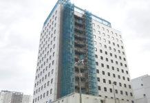 「ビレッジホテル有明東京」2019年11月 外観写真