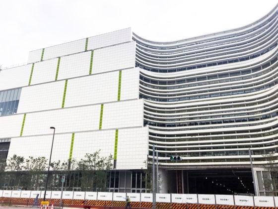 周辺商業施設の建設現場|有明に劇場型イベントホール「東京ガーデンシアター」が2020年5月誕生。