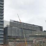 「東京ガーデンシアター」|建設現場写真 2019.12 時点